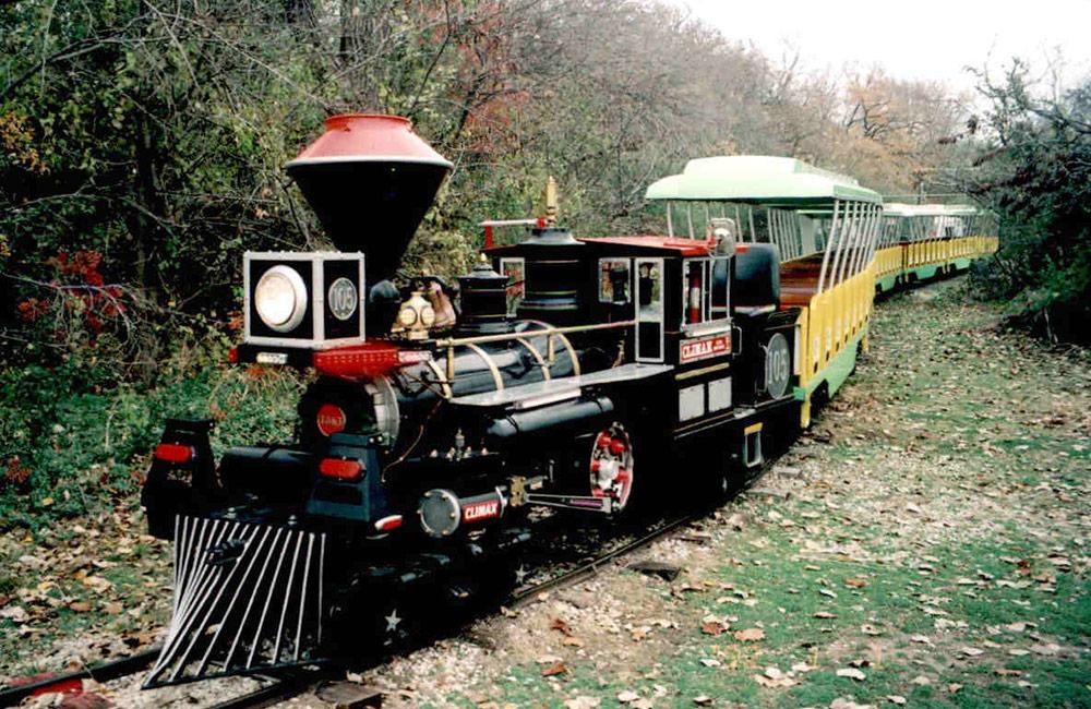 Forest Park Miniature Train Railroad - About The Railway