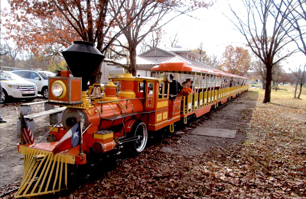 Forest Park Miniature Train Railroad - About The Railway